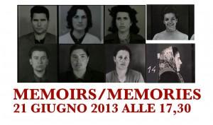 IL CENTRO INTERCULTURALE SEGNALA:   MEMOIRS/MEMORIES Giornata mondiale del Rifugiato