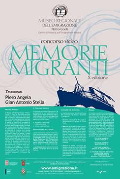 C ONCORSO V IDEO MEMORIE MIGRANTI X EDIZIONE 2013/2014