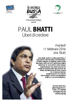 PAUL BHATTI - Liberi di credere