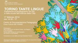 Il Centro Interculturale segnala: <br />TORINO TANTE LINGUE