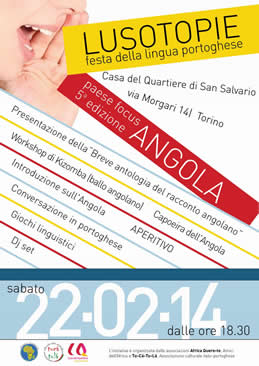 """Celebrazione della Giornata della Lingua Madre  """"Lusotopie 2014"""""""
