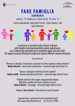 FARE FAMIGLIA - Seminario
