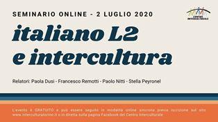 Italiano L2 e intercultura, seminario