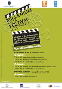 Il Centro Interculturale SEGNALA: IL MILLENNIUM FILM FESTIVAL DA BRUXELLES A TORINO