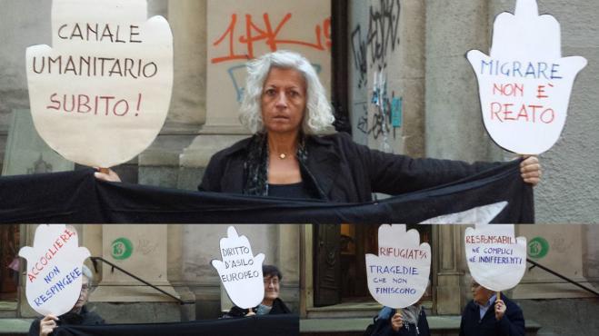 Le DIN di Torino per Lampedusa e le/i rifugiat*, ottobre 2013  Franca Balsamo