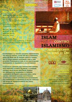 ISLAM CONTRO ISLAMISMO, No ai violenti nel nome di Dio