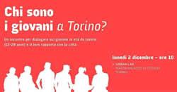 Chi sono i giovani a Torino?