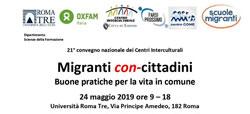21 Convegno dei Centri Interculturali<br />Immigrati con-cittadini. Buone pratiche per la vita comune.