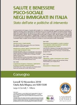 Salute E Benessere Psico Sociale Negli Immigrati In Italia Centro Interculturale Della Citta Di Torino