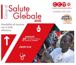 Il CENTRO INTERCULTURALE segnala:<br />CCM | Corso di Salute Globale 2020 | in FAD - Formazione a distanza