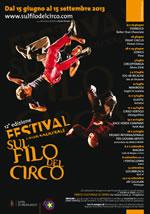 Il Centro Interculturale segnala: 12 edizione del Festival Internazionale Sul Filo del Circo